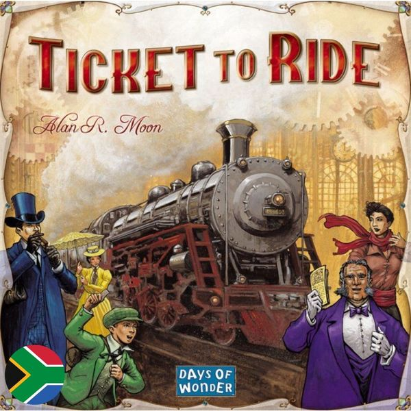 Ticket to Ride - Afrikaans & English Bilingual Edition (Board Game)