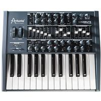 Arturia MiniBrute Slim Sized 25-Key Analog Synthesizer (Black)