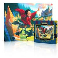New York Puzzle Company - Harry Potter - Quidditch Mini Puzzle (100 Pieces)