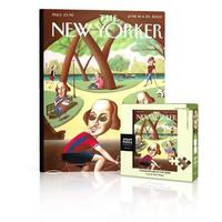 New York Puzzle Company - Shakespeare In the Park Mini Puzzle (100 Pieces)