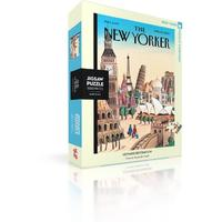 New York Puzzle Company - Ultimate Destination Puzzle (1000 Pieces)