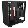 NZXT - H510 ATX Black & Red Chassis - Windowed