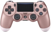 Sony - New DUALSHOCK 4 Wireless Controller V2 - Rose Gold (PS4) - Cover