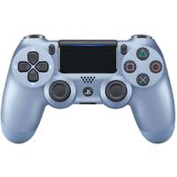 Sony - New DUALSHOCK 4 Wireless Controller V2 - Titanium Blue (PS4)