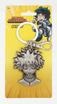 My Hero Academia - Deku Head Pewter Keyring