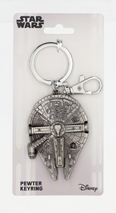 Star Wars - Millennium Falcon Pewter Keyring - Cover