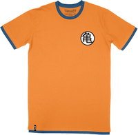 Dragon Ball Z - Goku Gi - Youth Tee - Orange T-Shirt (Ages 13/14) - Cover