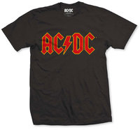 AC/DC - Logo Boys T-Shirt - Black (5-6 Years) - Cover