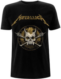 Metallica - Scary Guy Seal Men's T-Shirt - Black (Large) - Cover