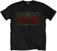 AC/DC - Oz Rock Men's T-Shirt - Black (XX-Large) - Cover