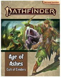 Pathfinder: Second Edition - Age of Ashes Adventure Path - Cult of Cinders (Role Playing Game) - Cover