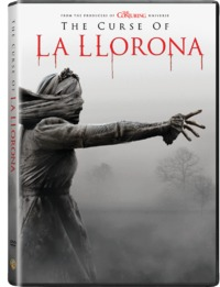 The Curse of La Llorona (DVD) - Cover