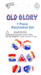 Koplow Games - Set of 7 Polyhedral Dice - Old Glory