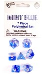 Koplow Games - Set of 7 Polyhedral Dice - Mint Blue