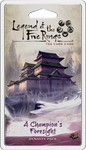 Legend of the Five Rings: The Card Game - A Champion's Foresight Dynasty Pack (Card Game)