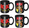AC/DC - Mini Mugs (Set of 4)