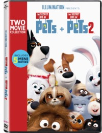 Secret Life of Pets  1 & 2 Boxset (DVD) - Cover