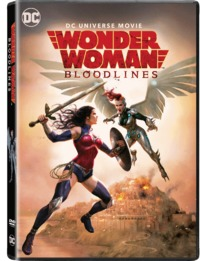 Wonder Woman: Bloodlines (DVD) - Cover