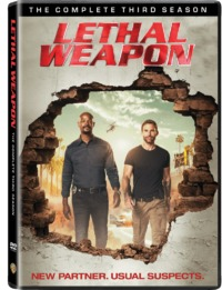 Lethal Weapon - Season 3 (DVD) - Cover