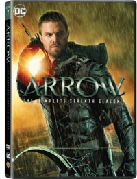 Arrow - Season 7 (DVD) - Cover