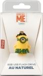 Tribe Minions Dispicable Me Pendrive Figure 16GB USB Flash Drive 2.0 with keyring (Minion Au Naturel)