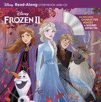 Frozen 2 Read-along Storybook - Disney Book Group (Paperback) - Cover