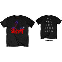 Slipknot - WANYK Back Hit Men's Black T-Shirt (Medium) - Cover