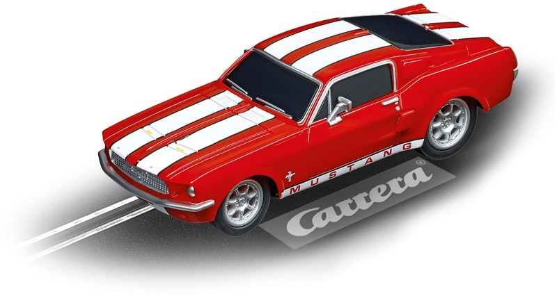 Carrera Go!!! - Ford Mustang '67 - Race Red (Slot Car)