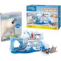 CubicFun - National Geographic Kids - The Arctic 3D Puzzle (73 Pieces)
