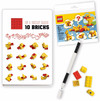 LEGO - Duck Notebook & Pen