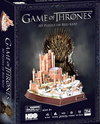 Game of Thrones - Red Keep 3D Puzzle (314 Pieces)