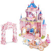 CubicFun - Princess Secret Garden 3D Puzzle (92 Pieces)