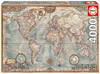 Educa - Historic World Map Puzzle (4000 Pieces)