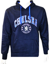 Chelsea - Crest Men's Hoody - Navy (Small)