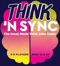 Think 'n Sync: The Great Minds Think Alike Game (Party Game) - Cover