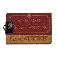 Game of Thrones - Welcome to Kings Landing - Door Mat - Cover
