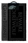 Game of Thrones - Beware of the Direwolf - Door Mat