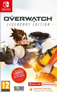 Overwatch - Legendary Edition - Code in Box (Nintendo Switch) - Cover