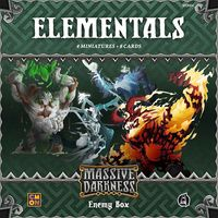 Massive Darkness - Enemy Box - Elementals (Board Game) - Cover