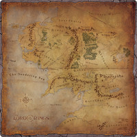 The Lord of the Rings: Journeys in Middle-earth - Playmat - Cover
