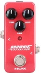 NUX Mini Core Series Brownie Electric Guitar Distortion Effects Pedal (Red)