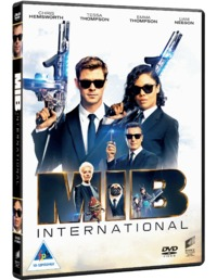 Men In Black: International (DVD) - Cover