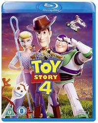 Toy Story 4 (Blu-ray) - Cover