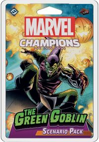 Marvel Champions: The Card Game - The Green Goblin Scenario Pack (Card Game) - Cover