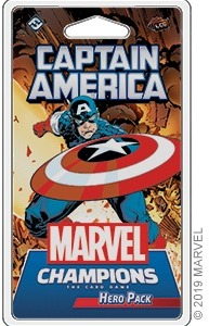 Marvel Champions: The Card Game - Captain America Hero Pack (Card Game) - Cover