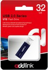Addlink U12 32GB USB 2.0 Flash Drive - Dark Blue