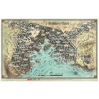 Battle Front Miniatures - Dungeons & Dragons - Baldur's Gate: Descent into Avernus - Baldur's Gate Map (Role Playing Game)