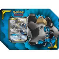 Pokémon TCG - Power Partnership Tin - Lucario & Melmetal-GX (Trading Card Game)