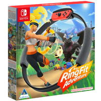 Ring Fit Adventure (Includes Game, Ring-Con and Leg Strap) (Nintendo Switch)