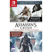 Assassin's Creed - The Rebel Collection - AC: IV - Black Flag & AC: Rogue (Nintendo Switch)